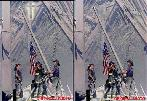 Link to 10-11-2001 edition of 9/11 Meditations CLICK HERE photos of firemen raising flag at WTC destruction, cross visible